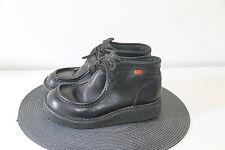 bonitas botines de piel negro KICKERS talla 35 en BUEN ESTADO