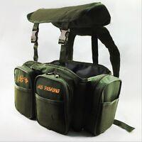 Fishing Seat Box Rucksack Backpack Harness Converter Sea Carp Fishing Tackle