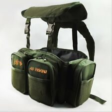 Sea Fishing Green Harness Rucksack Converter for Seat Box Tackle Boxes