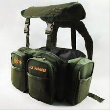 Carp Sea Fishing Green Harness Rucksack Converter for all Seat Box Tackle Boxes