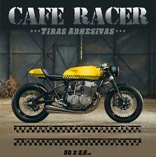 Tiras adhesivas Cafe Racer vintage moto  pegatinas autocollants stickers