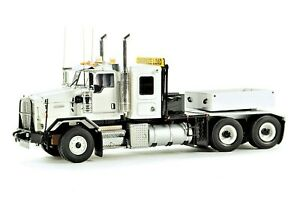 WSI 34-2001 Kenworth C500B Heavy Tractor w/Ballast Box - White Die-cast 1/50 MIB