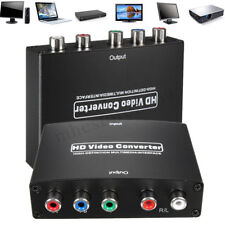 HD 1080P HDMI to RGB YPbPr Component Video R/L Audio Adapter Converter Box TV