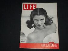 1948 JANUARY 26 LIFE MAGAZINE - RESORT FASHIONS - L 585