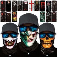 FACE MASK Balaclava Biker Skull Clown Motorcycle Helmet Neck Warm Winter Sport
