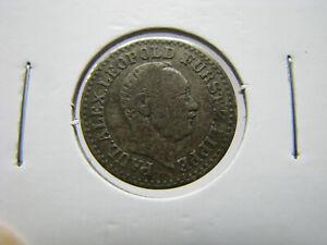 1847-A German States - Lippe-Detmold 1 Silver Groschen Coin