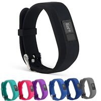 StrapsCo Silicone Watch Band Strap for Garmin 3 Vivofit 3