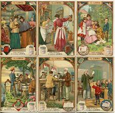 Chromo Liebig Sang. 562 ITA Il Libro ANNO 1898