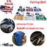 Complete Fairing Bolts Screws Kit for Suzuki GSXR 750 1000 600 1300 SV 650 1000