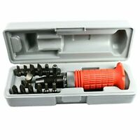 14 Pcs Heavy Duty Impact Driver Bits Screwdriver Set Tool Socket Kit with Case