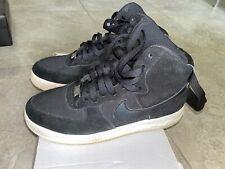 [653998-009] Nike Air Force 1 High Black/Black-White Grade-School Size 7y