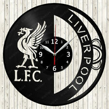 Liverpool Vinyl Record Wall Clock Decor Handmade 1191