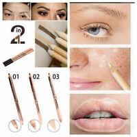 make - up - tools kajal - stift augenbrauen - pen + concealer doppelseitige