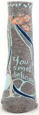 You Smell Delicious Blue-Q Ankle Socks New Women Hosiery Size 9-11 Yum