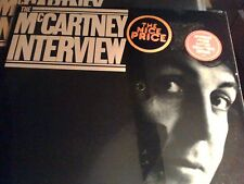 Beatles' Paul McCartney Interview ltd collectors edition SEALED