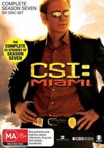 CSI: Miami - Season 07 DVD