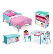 New Nickelodeon Dora the Explorer Room in a Box with Toy Bin as Bonus