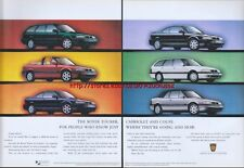 Rover Tourer Series Car 1995 Magazine Advert #2732