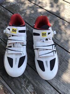 Mavic Ergo Fit 2D Max Energy Carbon Composite Mens Cycling Shoe EU 471/3 US 12.5
