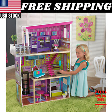 Super Model Dollhouse with 11 Accessories Barbie Doll Houses by KidKraft 3 Level