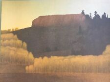 RUSSELL CHATHAM Pencil Signed FALL NEAR DEADMANS GULCH Numbered 375 LITHOGRAPH