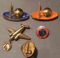 1939 New York World's Fair pins & Ring