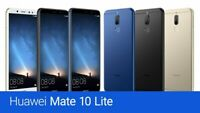 BRAND NEW HUAWEI MATE 10 LITE RNE-L03 64GB 4GB RAM BLACK UNLOCKED TO ALL NETWORK