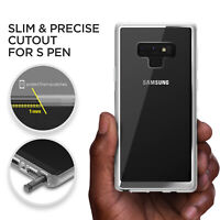 For Samsung Galaxy Note 9 Case VRS® [Crystal Chrome] Clear Slim Shockproof Cover