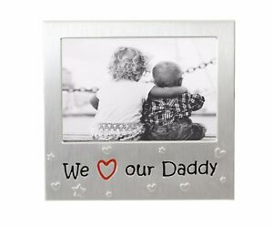 We Love Our Daddy Photo Picture Frame Fathers Day Birthday Christmas Dad Gifts