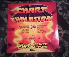 BOB MARLEY/MADNESS ON CHART EXPLOSION VINYL LP VARIOUS ARTISTS 1980
