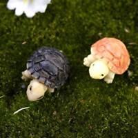 10pcs Miniature Dollhouse Bonsai Fairy Garden Landscape Tortoise Beauty Decor n