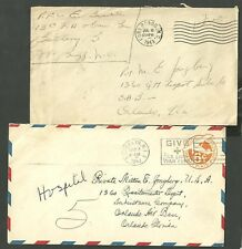 4 Covers Sent To Private in 358 Fighter Squadron Orlando Air Base Florida Fl