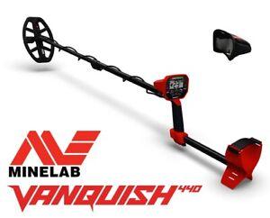 Minelab Vanquish 440 inkl. Dustcover. Metalldetektor Metallsonde Metallsuchgerät