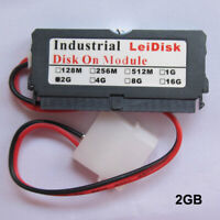 NEW LeiDisk Industrial 2GB IDE 40Pin IDE Disk On Module Flash Memory with cable