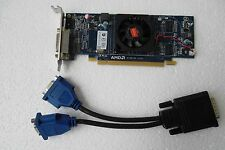 Dell AMD Radeon HD 6350 PCIe Graphic Video Card 512MB for Dual VGA Monitor HFKYC