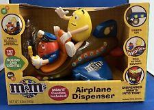 """New"" M&M Airplane Dispenser, M&M Brand CandyRific 2012"