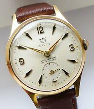 GOLANA 15Rubis Formwerk extrem seltene Herren Vintage Armbanduhr