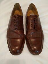 mezlan 10.5 brown dress shoes vguc