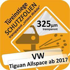VW Tiguan allspace porte Einstiege Seuil Voiture Protection Lackschutz diapositive