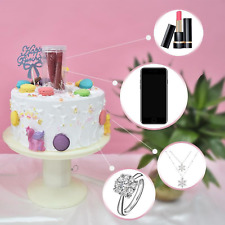Surprise Stand Musical Popping Cake Stand Happy Birthday Cake Holder 2in1