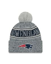 ed4503e13 New England Patriots New Era 2018 NFL Sideline Reverse Sport Knit Hat – Gray