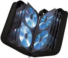 Hama CD-Tasche Wallet Etui Hülle schwarz 80 CDs Nylon Aufbewahrung Transport
