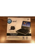 "ONN Swivel 7"" Portable DVD Player Kit"
