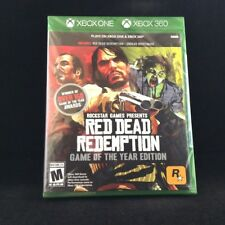 Red Dead Redemption -- Game of the Year Edition (Plays on Xbox One/Xbox 360) NEW