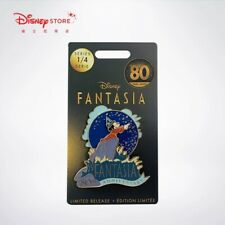 Disney Store pin Sorcerer Mickey Mouse Fantasia 80th Anniversary Limited Release