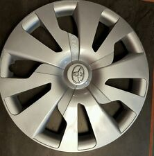 """ONE 15"""" TOYOTA YARIS 2015-2016  SILVER HUBCAPS WHEEL COVER RIM COVER 570-61176"""