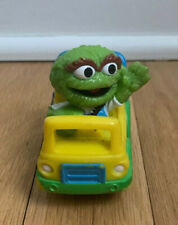 Oscar the Grouch Hasbro Trash Delivery Dump Truck Toy Car