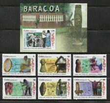 2019 Baracoa Indian Heritage Pottery Footprint Caribbean Island Mnh + S/S Set