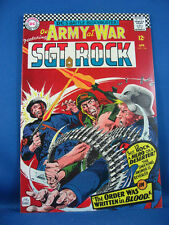 OUR ARMY AT WAR SGT ROCK 166 NM- 1966 HIGH GRADE