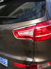 For Kia Sportage 2010 2011 2012 Chrome Rear Light Lamp Tail light Cover Trim